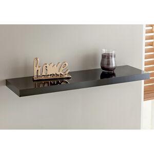 Ebbe 90cm High Gloss Grey Shelf