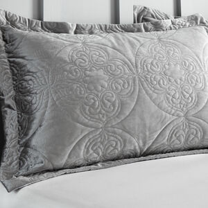 Mandala Silver Pillowshams 50x75cm