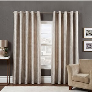 LUREX CHEVRON NATURAL 66X54 Curtain