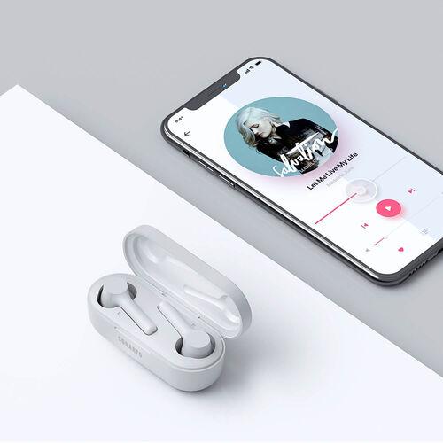 Sonarto True Wireless Earbuds - White