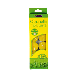 Chatsworth 12 Pack Citronella Tealights