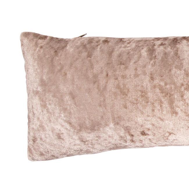 Velvet Crush Draught Excluder Gold 22 x 90cm