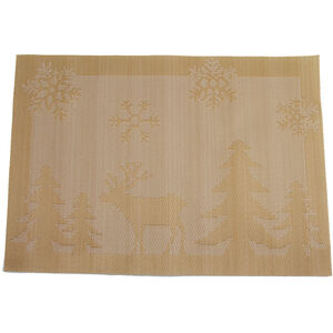Reindeer Gold Placemat