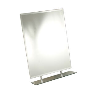 Tema Rect Bevelled 1 Shelf Mirror