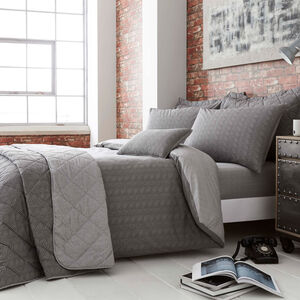 DOUBLE DUVET COVER Dave Charcoal