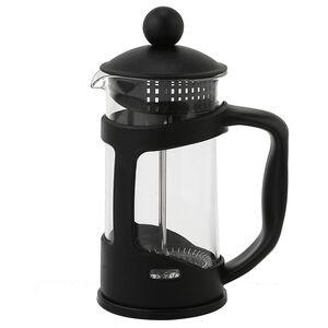 Glona Glass Cafetiere 350ml - Black
