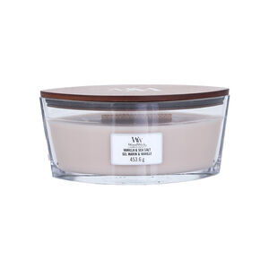 Woodwick Vanilla & Sea Salt Elipse Jar Candle