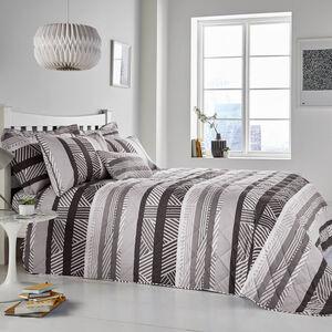 Lyons Grey Bedspread 200cm x 220cm