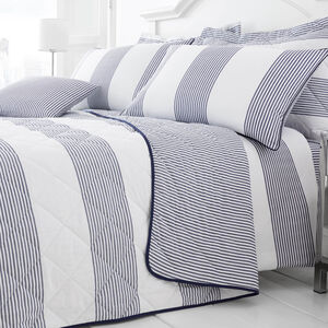 Smyth Blue Bedspread 200cm x 220cm