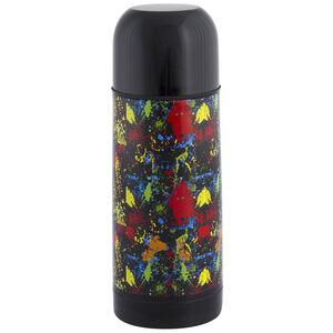 Jelly Childrens Splatter Black Vacuum Flask 035L