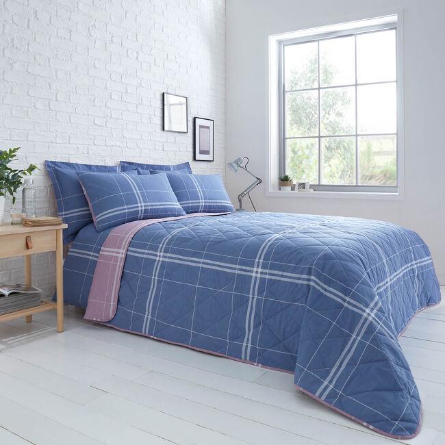 Moran Bedspread 200 x 220cm - Blue