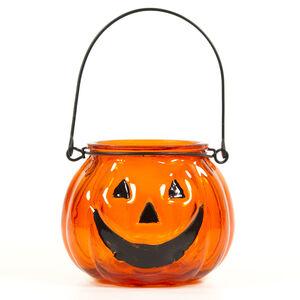 Halloween Orange T-Light Holder