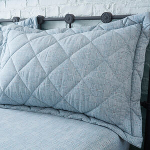 Haller Grey Pillowshams 50cm x 75cm