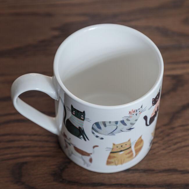 Cosy Cats Fine China Mug