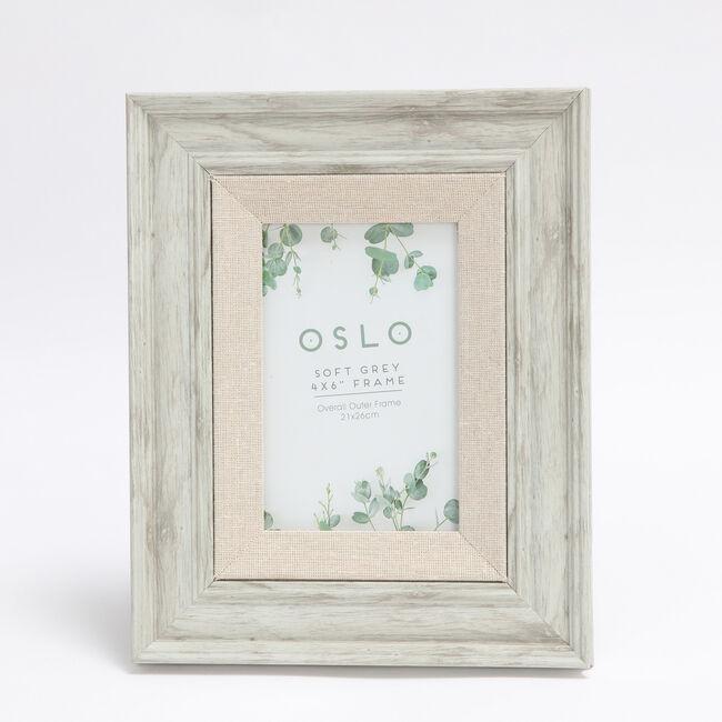 4x6 OSLO SOFT GREY Frame