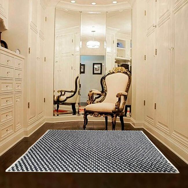 Sahara Doormat 40x60cm - Ivory & Charcoal
