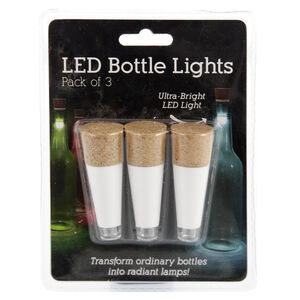 3 LED Bottle Lights