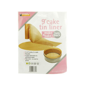 Make and Bake 9 Inch Cake Tin Liner