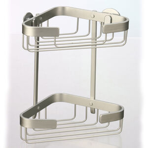 Aluminium Two Tier Corner Caddy