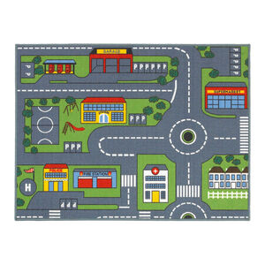Road Map Childrens Floormat