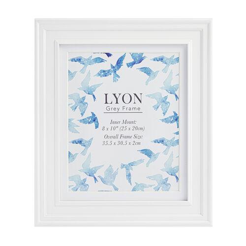 8x10 LYON WHITE Frame