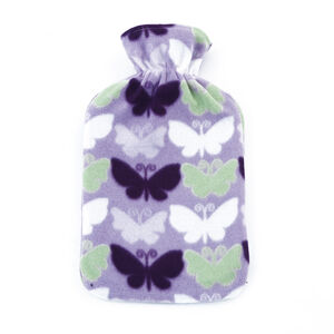 Printed Fleece Hot Water Bottle