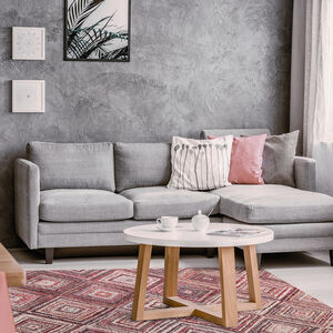 TULLYVALE PINK  80x150cm Rug 3A