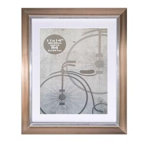 A4 Metallic Silver Photo Frame