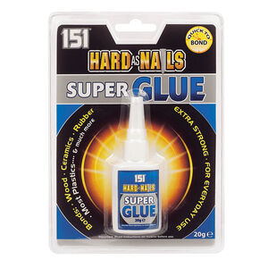 Hard As Nails Super Glue