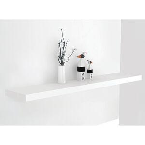 Bergen 120cm White Floating Shelf