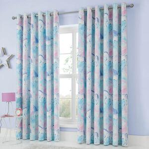 MYSTICAL UNICORN 66x54 Curtain