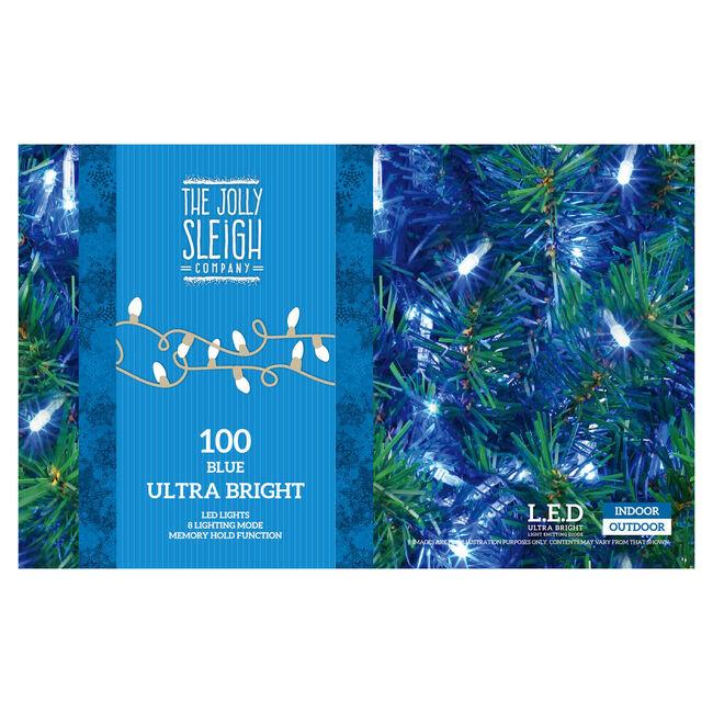 100 Ultra Bright LED Chaser Lights Blue