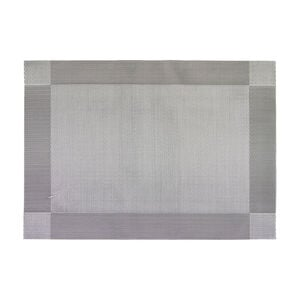 Netted Oxford Silver Placemat