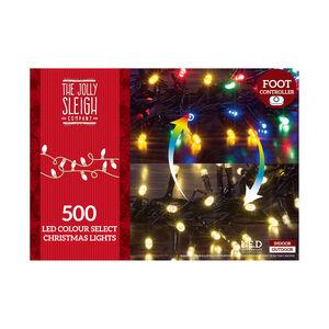 500 LED Colour Select Christmas Lights
