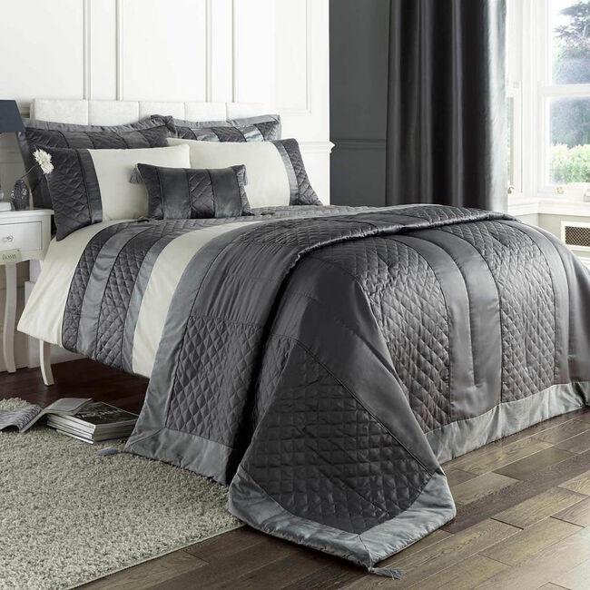 Classic Velvet Charcoal Pillowshams 50x75cm