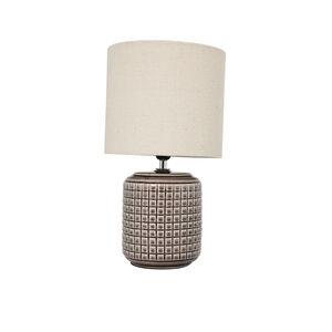 Opio Glazed Table Lamp Taupe