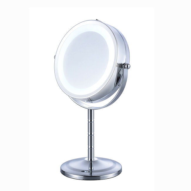 Free Standing Cosmetics Touch Mirror