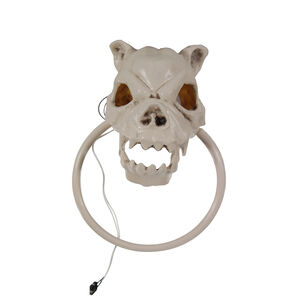 Dog Skull Door Knocker