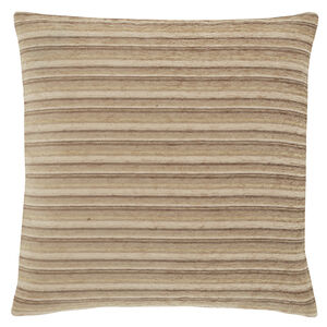 Harry Stripe Natural 45x45 Cushion