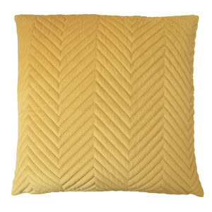 Triangle Stitch Cushion 58x58cm - Tawny Olive