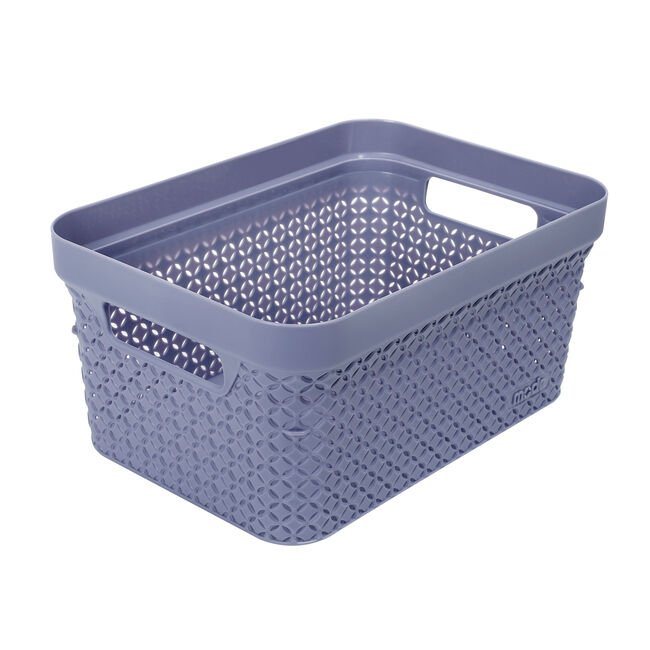 Ezy Mode Small Basket Soft Violet 5L