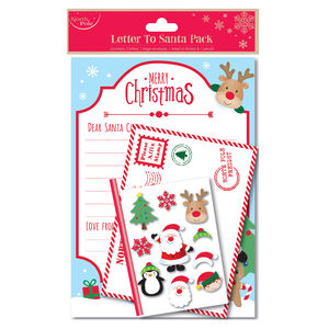 Traditional Letter To Santa Pack