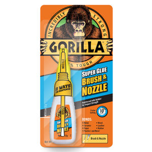 Gorilla Brush & Nozzle Superglue 12gm