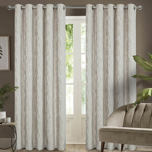DAVY CHENILLE NATURAL 66x54 Curtain