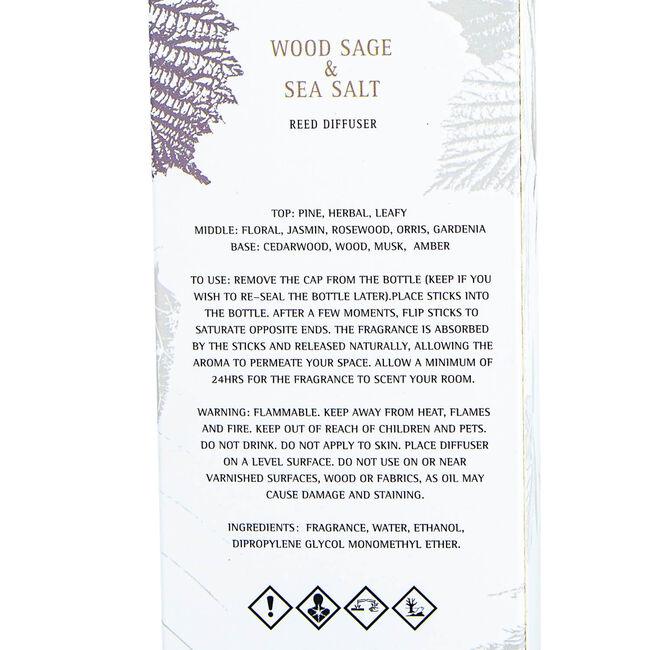 Larchmere Wood Sage & Sea Salt Reed Diffuser 200ml