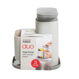 Joseph Duo Soap Dispense and Sponge Holder