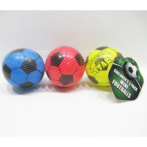 Childrens 3 Pack Mini Footballs