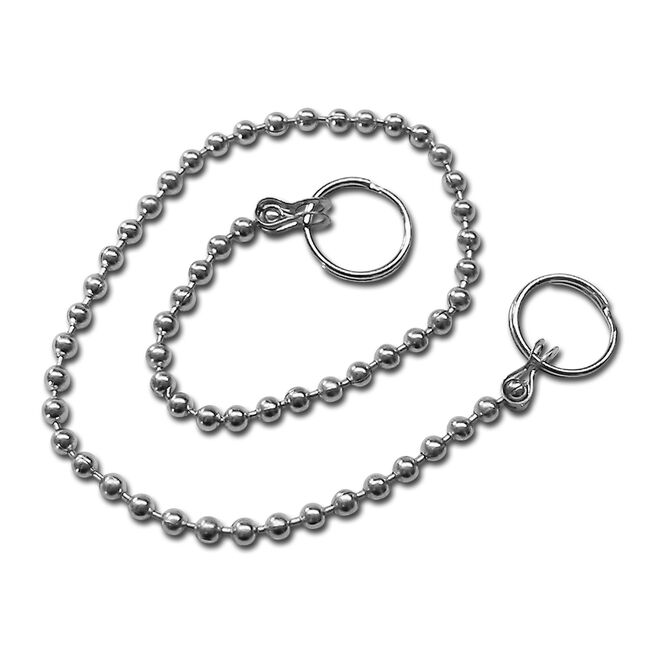 Facklemann Stainless Steel Plug Chain