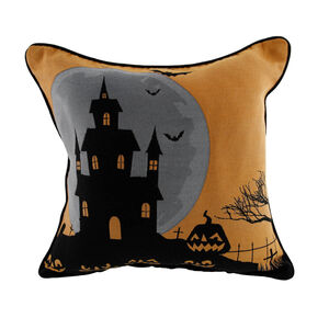 Haunted House Cushion Cover 45x45cm 2 Pack