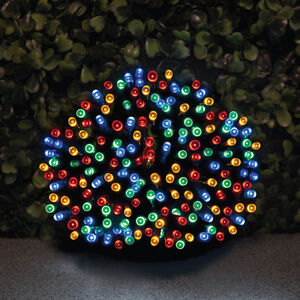 200 LED Solar String Lights Multi
